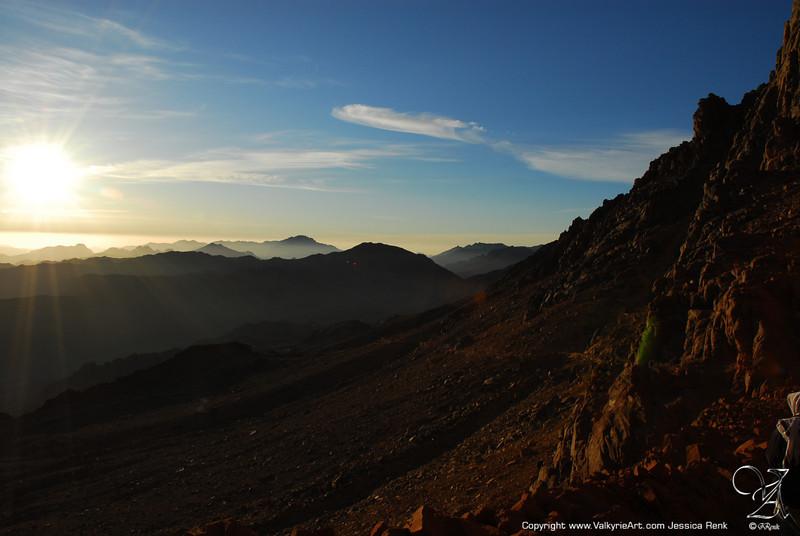Sunrise on Mt Sinai (1)