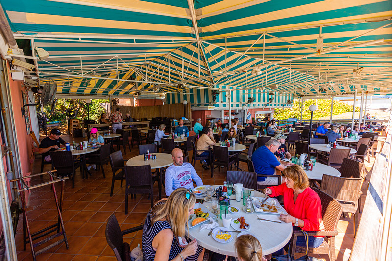 The Dune Deck Cafe, located at 100 N Ocean Blvd, Lantana on Wednesday, November 20, 2019. [JOSEPH FORZANO/palmbeachpost.com]
