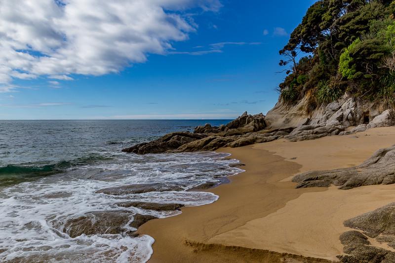 «Abel Tasman Track»: An der «Anapai Bay»