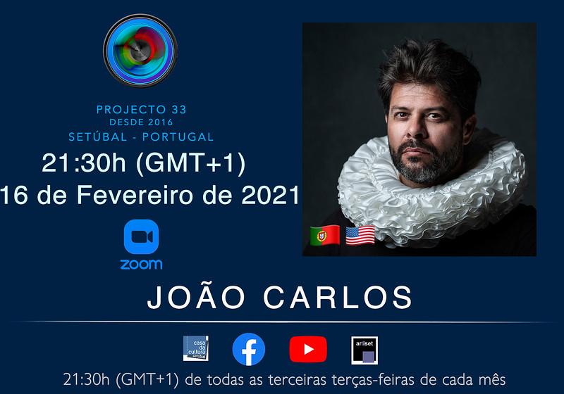 João Carlos - Fevereiro 2021