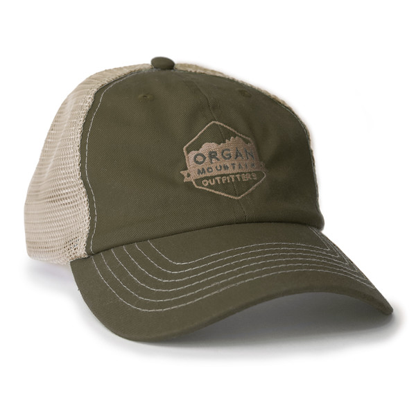 Outdoor Apparel - Organ Mountain Outfitters - Hat - Mesh Cap - Olive Khaki.jpg