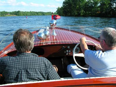 Bobs boat on the Hudson