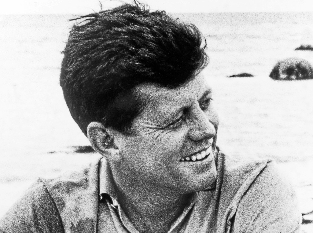 . John F. Kennedy (From the Mark Shaw Collection)