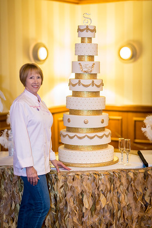 2016-10-20 DC - Wedding Cake @ Sheraton Arlington