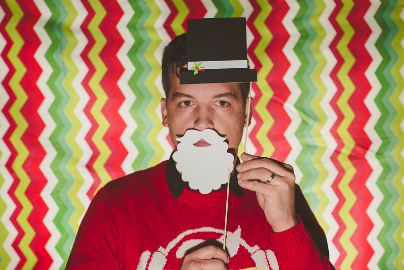 Family Christmas Photo Booth