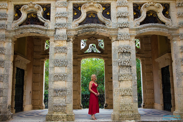 JEWEL AND KRYSTAL HANKS AT VIZCAYA MUSEUM AND GARDENS