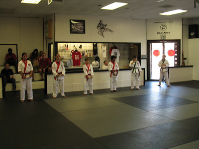 August 23, 2008 Red Belt Testing