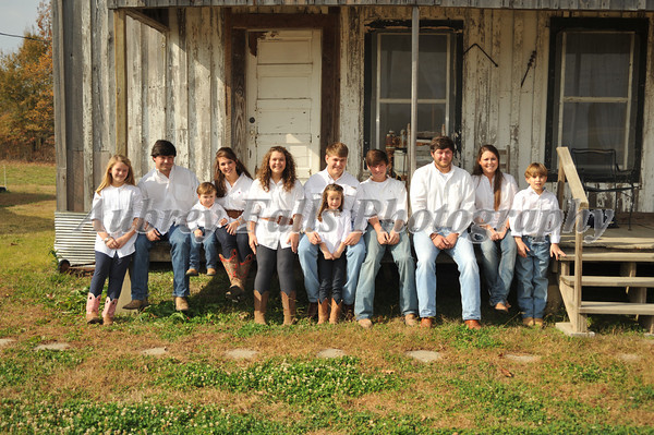 Harris Family 2012