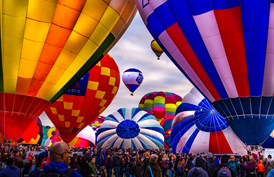Albuquerque Balloon Fiesta - Sat AM - Oct 2018