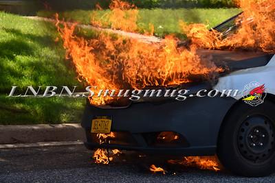 Wantagh F.D. Car Fire 2107 Fir Street 6-15-19