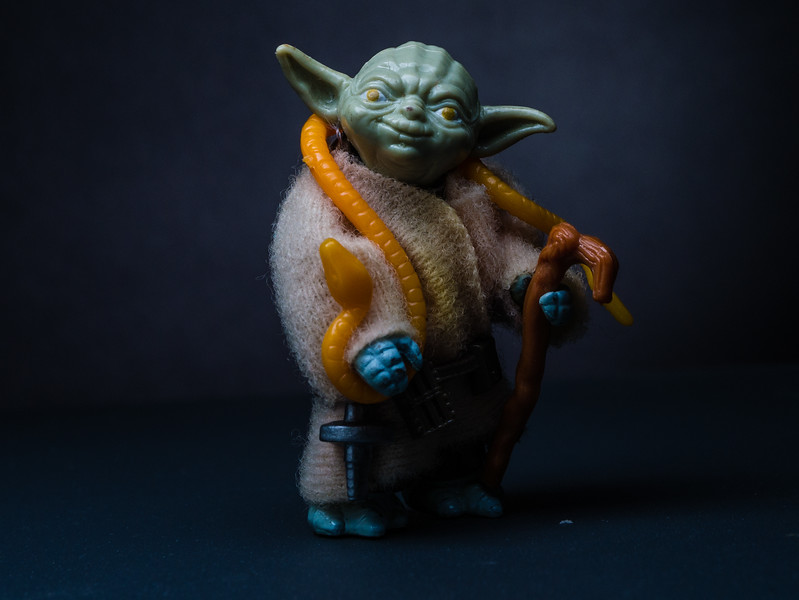 Star Wars Day - May the Fourth Be With You.  Yoda, the Jedi Master. [JOSEPH FORZANO/palmbeachpost.com]