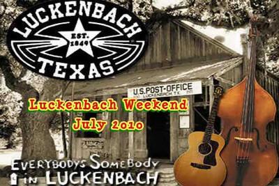 Luckenbach July 2010