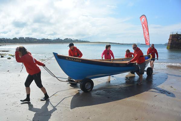 North Berwick Skiffs 2014
