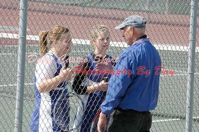 St. Clair JV Girls Tennis Ag. Port Huron Reds