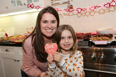 Lauren's Valentine's Cookie Party
