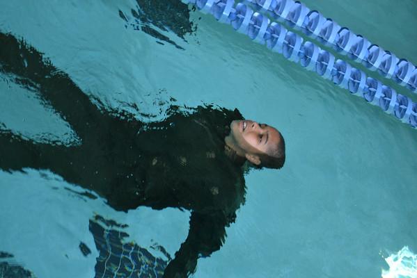Leadership Class - Water Survival Training