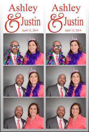 Ashley and Justin Wedding 4-12-2014