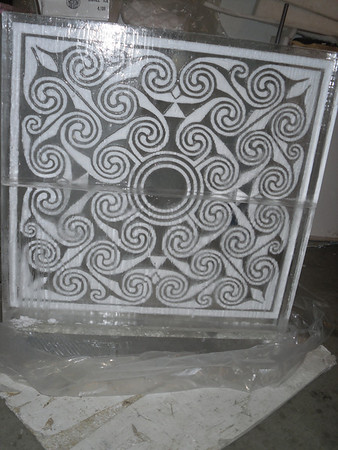 Winter Themed Ice Sculptures