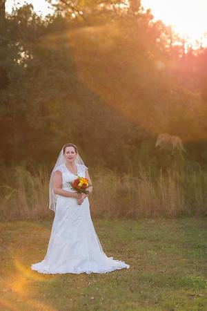 Leigh's Bridal Session :: E. Carroll Joyner Park :: AO&JO Photography