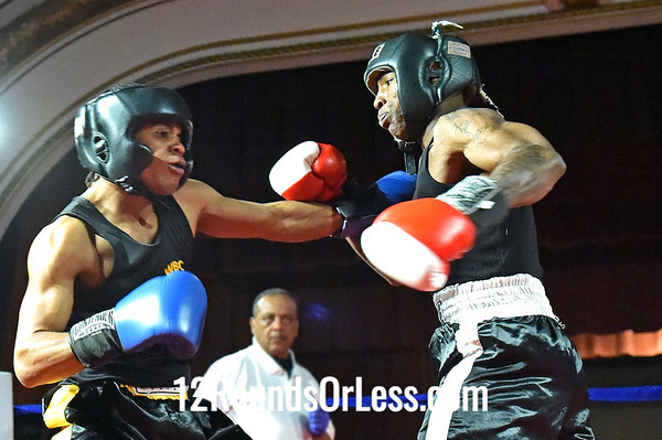 Bout 7 Frank Brown, WSBC, Cleveland -vs- Cordell Powell, MJ Zone Rec, Cleveland, 132 lbs, Novice