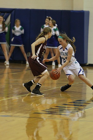 MN vs COLUMBUS JV girls bball