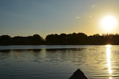 2012-03-16 Hog Island Lake at Sunset