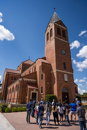 College students visit St. Peter in Lindsay for retreat