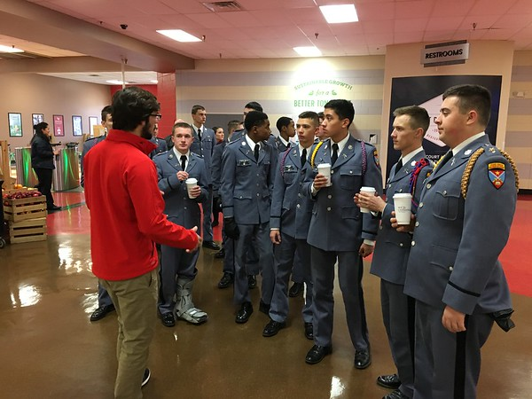 Cadets Tour Liberty University