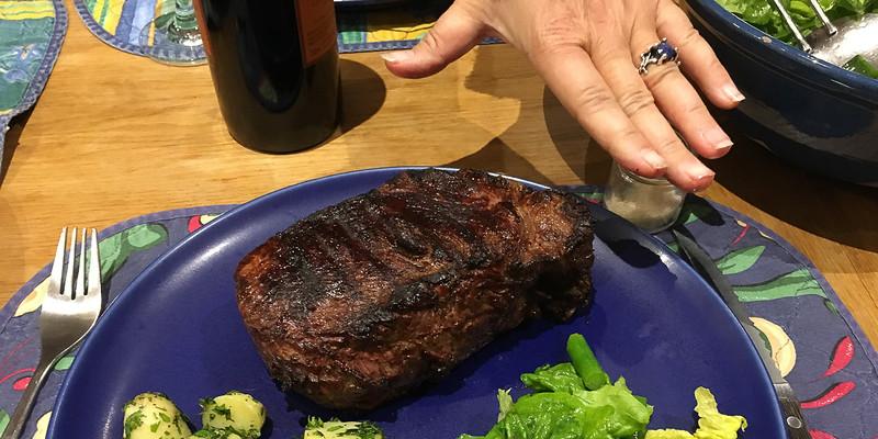 750 gram steak - Yum