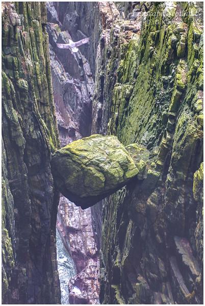 Chock stone, Ceann a'Mhara
