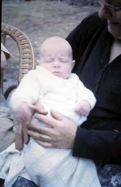1964-2-25 (11) David 2 Mths with Grandma.JPG