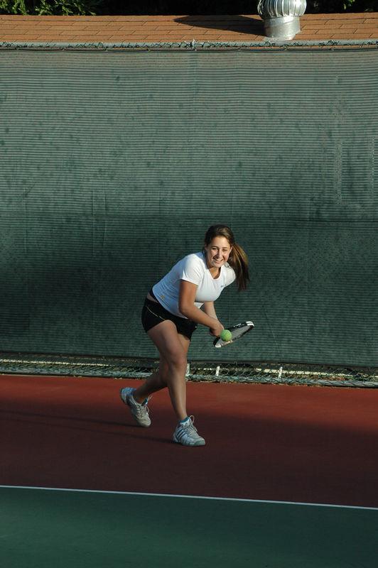 Menlo Girls Tennis 2005 - Player 7