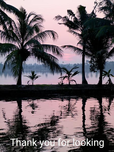 Sunrise in Kerala