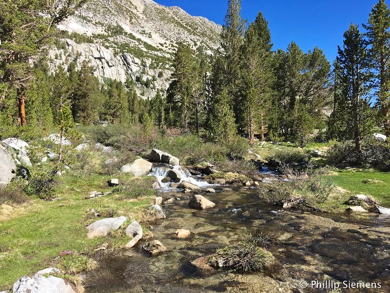 Creek in Little Lakes Basin