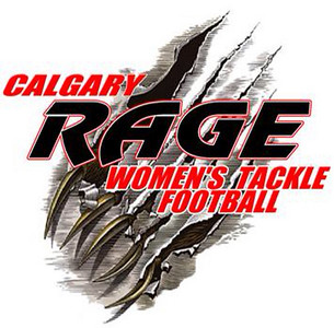 Calgary Rage Women's Tackle Football 2010