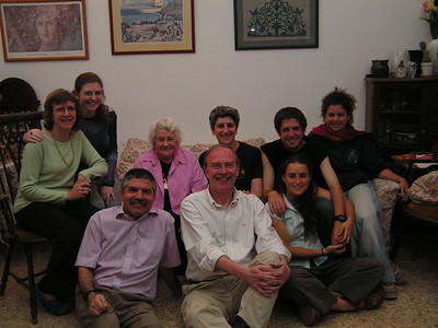 Family in Jerusalem Apr 2005