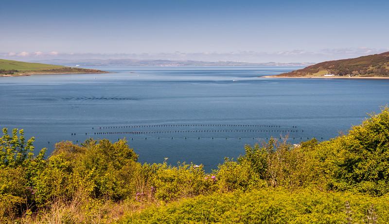 Lamlash Bay on the Isle of Arran