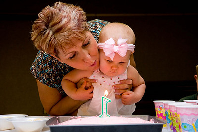 Abigail Marie Crum, First Birthday