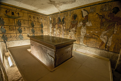 Inside Tutankhamun's Tomb @ the Valley of the Kings