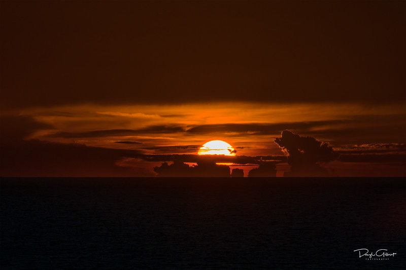 Sunset on the High Seas