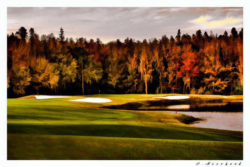The 9th @ Cheval in the late Afternoon