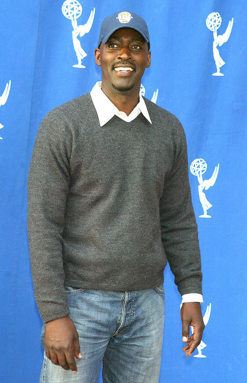 . Actor Michael Jace arrives at the Academy of Television Arts and Sciences\' \'Behind The Scenes Double Header\' with FX\'s \'The Shield\' and \'Nip/Tuck\' at the Leonard H. Goldenson Theater on April 28, 2004 in No. Hollywood, California. (Photo by Kevin Winter/Getty Images)