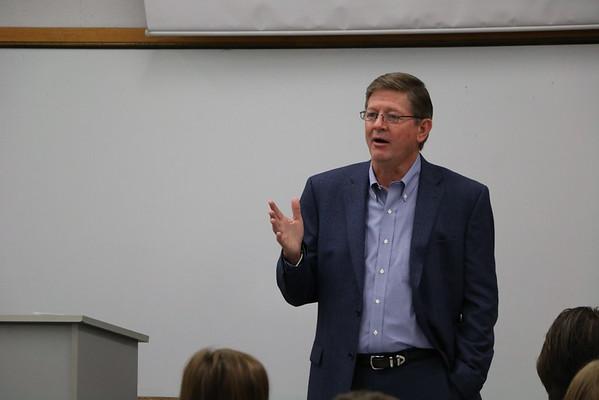 David Osborn '83 Campus Visit