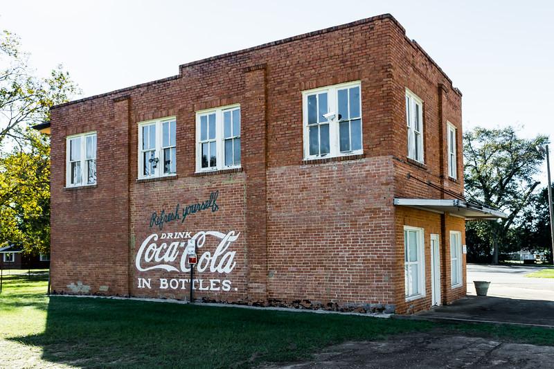GA, Attapulgus - Coca-Cola Wall Sign
