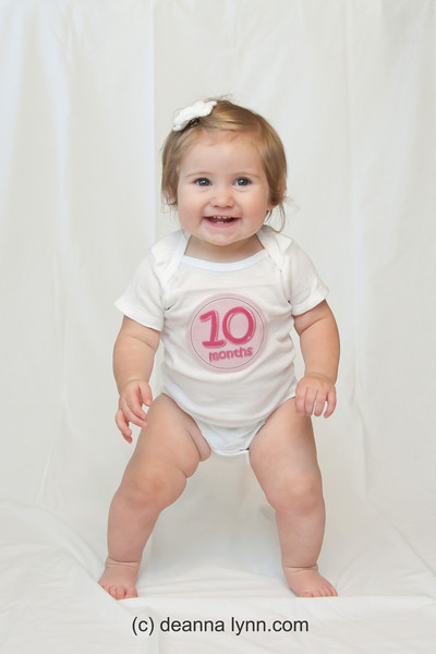 2012 - 6/2 Chloe 10 months