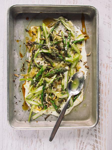 roasted asparagus whipped ricotta honey flatlay.jpg
