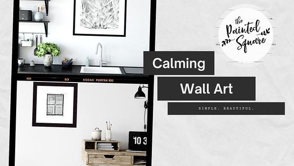 Calming Wall Art Slides