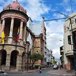 Cuenca old buildings, Cuenca, Ecuador