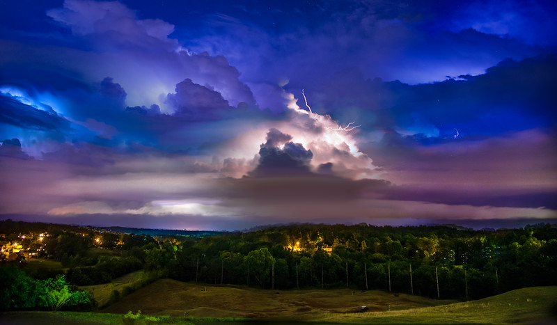 Storm clouds over Northern GA