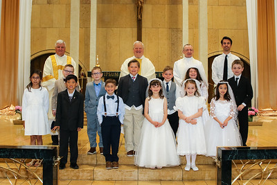 First Communion May 2 2021 Individual, Family, Group